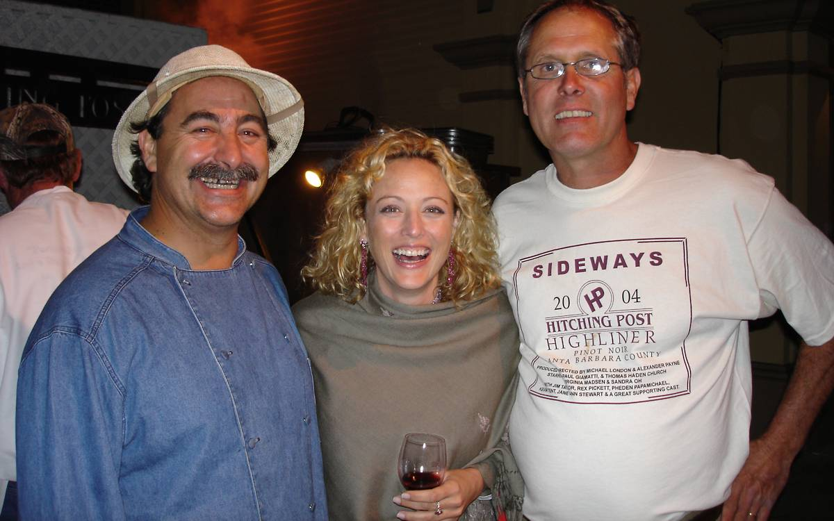 Frank Ostini, Virginia Madsen & Gray Hartley
